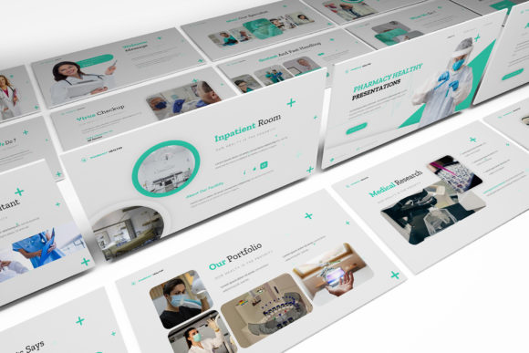 Pharmacy Healthy Powerpoint Template Graphic Presentation Templates By formatikastd