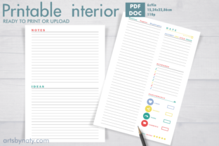Print on Demand: Plan Your Blog Posts KDP Journal. Graphic KDP Interiors By artsbynaty