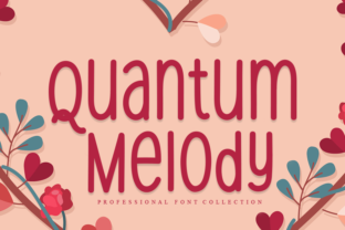 Print on Demand: Quantum Melody Sans Serif Font By W26Green