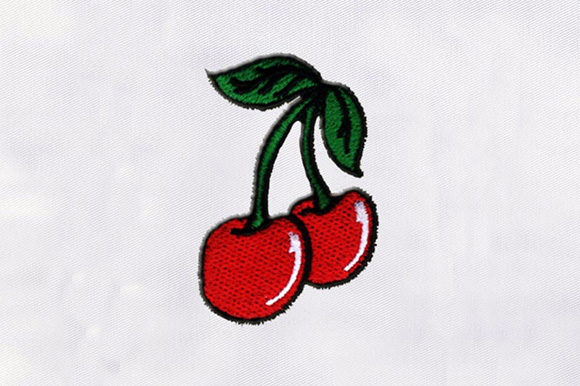 Red Cherries Design Food & Dining Embroidery Design By DigitEMB