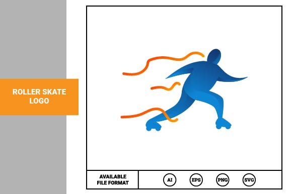 Print on Demand: Roller Skate Logo Graphic Logos By pnajlab