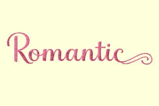 Print on Demand: Romantic Quotes Embroidery Wedding Quotes Embroidery Design By setiyadissi