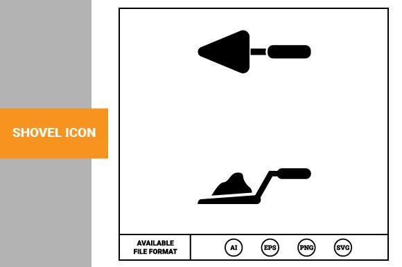 Print on Demand: Shovel Icon Graphic Icons By pnajlab
