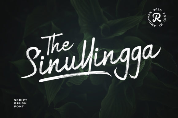 Print on Demand: Sinullingga Script & Handwritten Font By RHIDTYPE