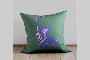 Statue of Liberty Around the world Embroidery Design By Digital Creations Art Studio