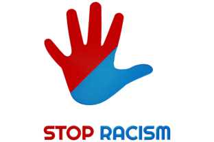 Print on Demand: Stop Racism Work, Religion & School Embroidery Design By embroidery dp