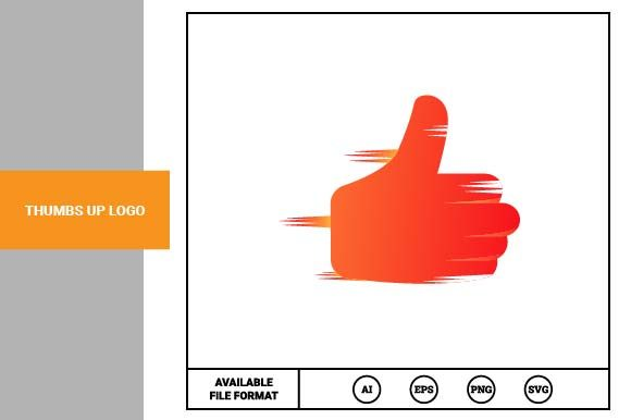 Print on Demand: Thumbs Up Logo Graphic Logos By pnajlab