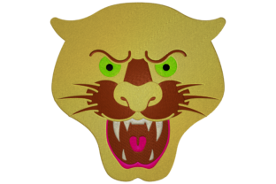 Tiger Face Animals Embroidery Design By Digital Creations Art Studio