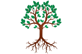 Tree of Life Forest & Trees Embroidery Design By Digital Creations Art Studio