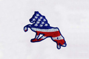 Usa Horse Horses Embroidery Design By DigitEMB