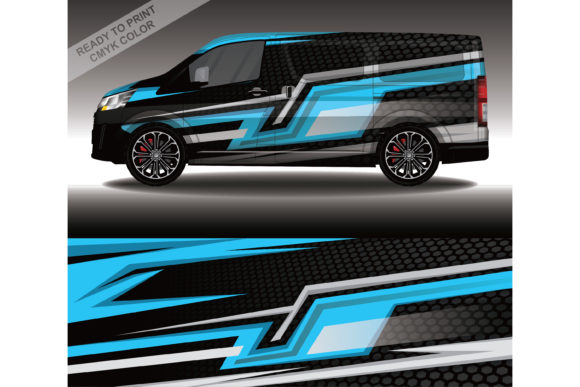 Wrap Car Decal Design Vector Livery Race Graphic Print Templates By 21graphic