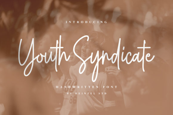 Print on Demand: Youth Syndicate Script & Handwritten Font By Heinzel Std