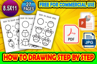 Print on Demand: How to Draw Step by Step KDP Interiors Graphic KDP Interiors By NaubitArt