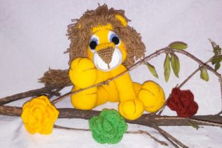 Pattern of Jack, the Lion and Flower Graphic Crochet Patterns By ternuraamigurumi