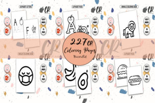 +200 Coloring Pages for Kids - KDP Graphic KDP Interiors By Creative Ram