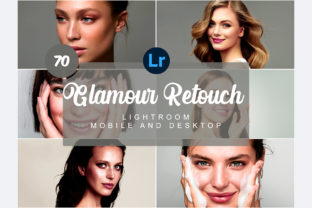 70 Retouch Mobile and Desktop PRESETS Graphic Actions & Presets By Snipersden