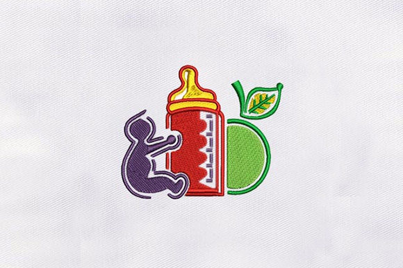 Baby Feeder Babies & Kids Embroidery Design By DigitEMB