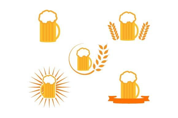 Print on Demand: Beer Icon Set Graphic Icons By pnajlab
