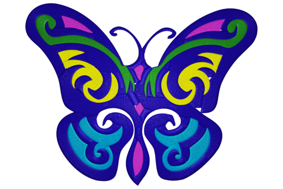 Butterfly Bugs & Insects Embroidery Design By Digital Creations Art Studio