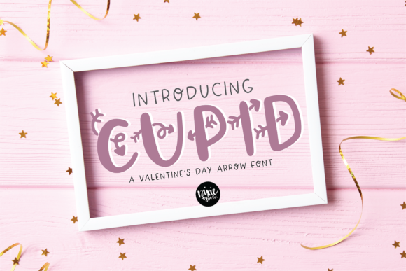 Print on Demand: Cupid Display Font By dixietypeco