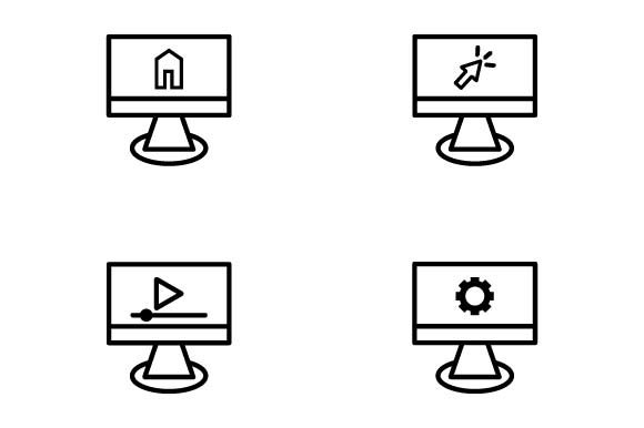 Print on Demand: Device Icon Graphic Icons By pnajlab