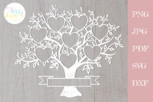 Family Tree Svg 8 Members, Reunion Svg Graphic Crafts By MySVGDesigns