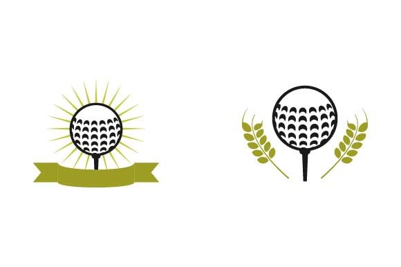 Print on Demand: Golf Logo Design Template Graphic Logos By pnajlab