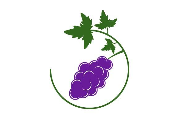 Print on Demand: Grape Icon Graphic Icons By pnajlab