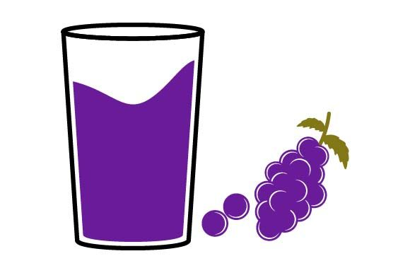 Print on Demand: Grape Juice Icon Graphic Icons By pnajlab