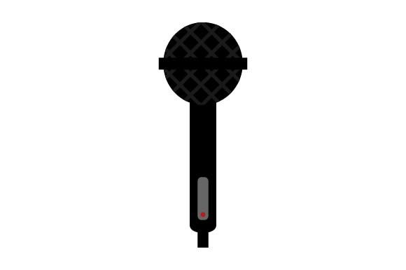 Print on Demand: Microphone Icon Graphic Icons By pnajlab