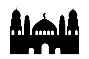 Print on Demand: Mosque Icon Graphic Icons By pnajlab