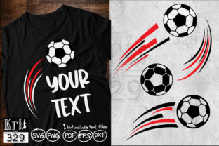 Motion Soccer Ball Movement SVG Graphic Crafts By Krit-Studio329