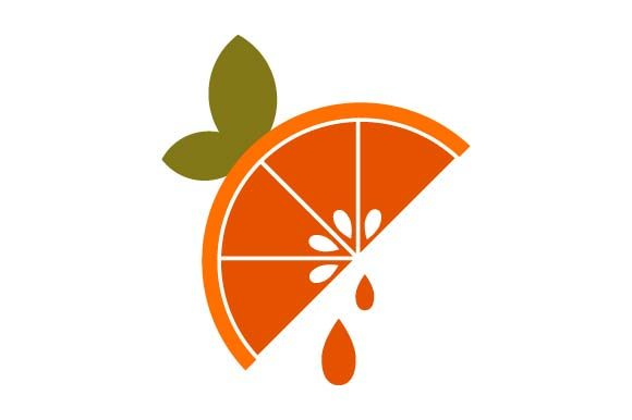 Print on Demand: Orange Fruit Icon Graphic Icons By pnajlab