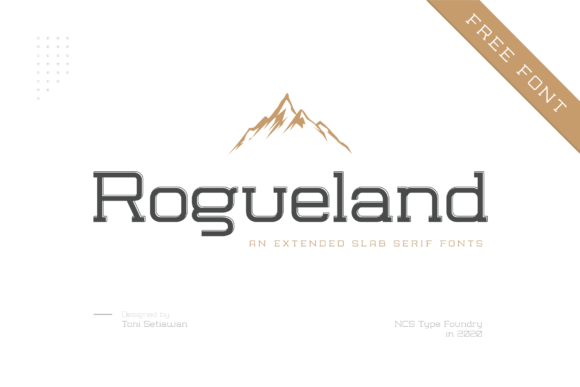 Print on Demand: Rogueland Slab Serif Font By namaracreativestudio