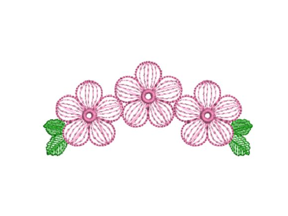 Simple Flowers Embroidery