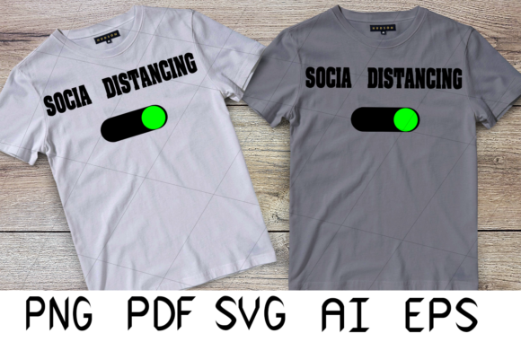 Print on Demand: Social Distancing Mode Graphic Crafts By Digital Creations
