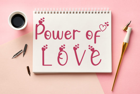 Valentine Cute Font Downloadable Digital File