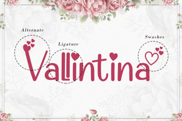 Valentine Cute Font Popular Design