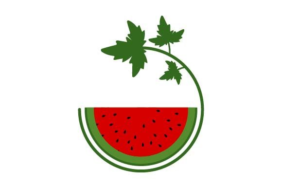 Print on Demand: Watermelon Icon Graphic Icons By pnajlab