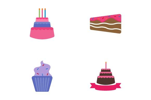 Print on Demand: Birthday Cake Graphic Crafts By pnajlab