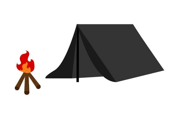 Print on Demand: Camping Ten Graphic Crafts By pnajlab