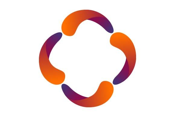 Print on Demand: Circle Logo Colorful Graphic Logos By pnajlab