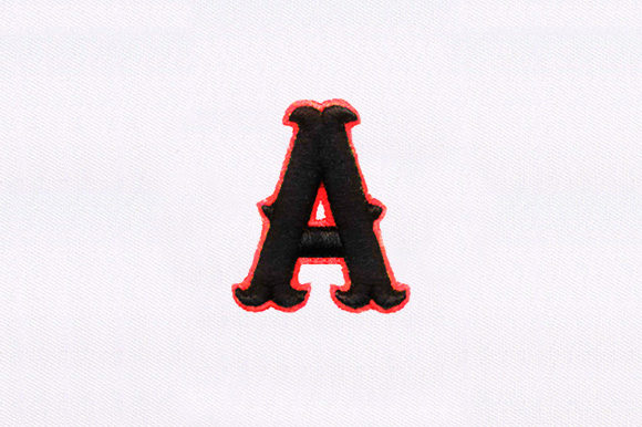 Alphabet Clothing Embroidery Design By DigitEMB