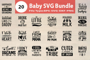 Print on Demand: Baby SVG Designs Bundle Graphic Print Templates By Design Store