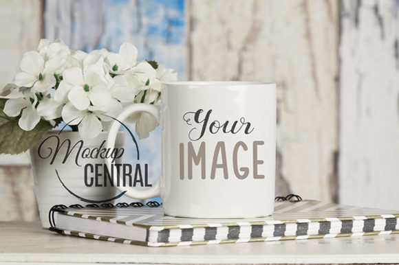 Blank White Coffee Glass Cup Mockup Graphic Product Mockups By Mockup Central