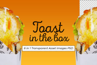 Bread Toast in the Box Graphic Food & Drinks By Fizzetica.ID