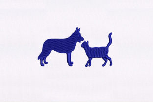 Cat Dog Animals Embroidery Design By DigitEMB
