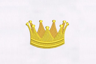 Crown Accessories Embroidery Design By DigitEMB