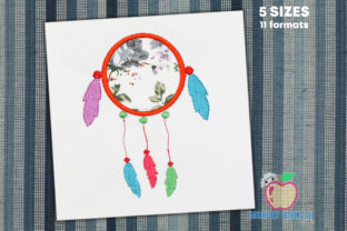 Dream Catcher Applique Pattern Backgrounds Embroidery Design By embroiderydesigns101