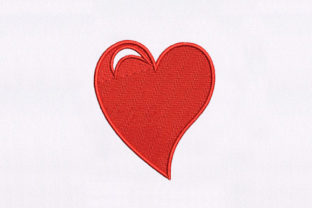 Eye Catching Heart Valentine's Day Embroidery Design By DigitEMB
